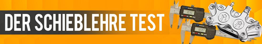 Schieblehre Test